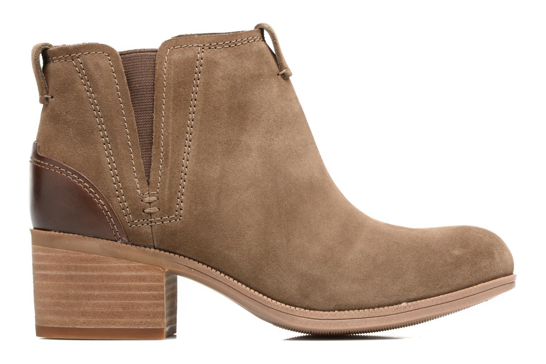 Bottines et boots Clarks Maypearl Daisy Marron vue derrière