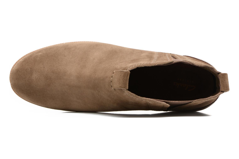 Bottines et boots Clarks Maypearl Daisy Marron vue gauche