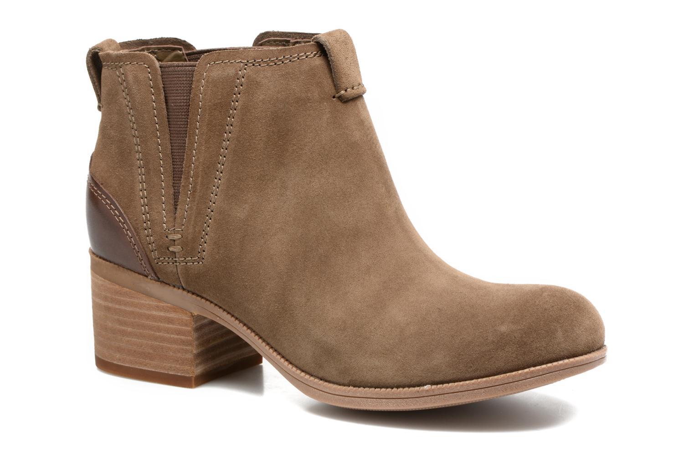 Bottines et boots Clarks Maypearl Daisy Marron vue détail/paire