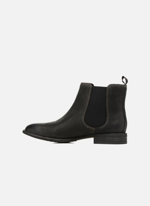 Bottines et boots Clarks Maypearl Nala Noir vue face