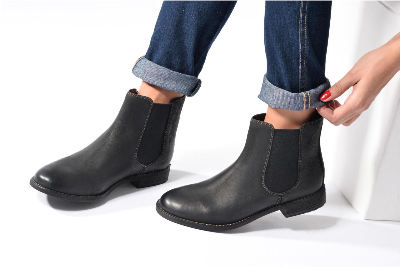 Bottines et boots Clarks Maypearl Nala Noir vue bas / vue portée sac