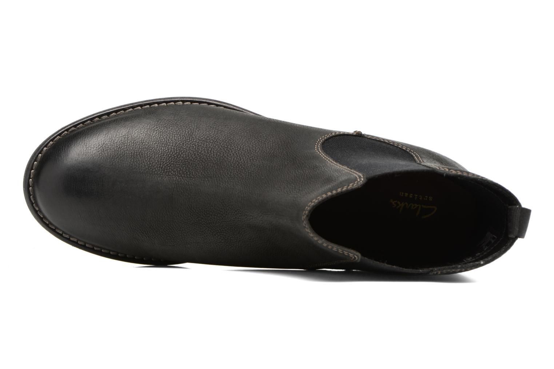 Bottines et boots Clarks Maypearl Nala Noir vue gauche