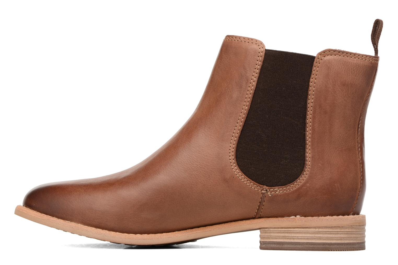 Ankle boots Clarks Maypearl Nala Brown front view