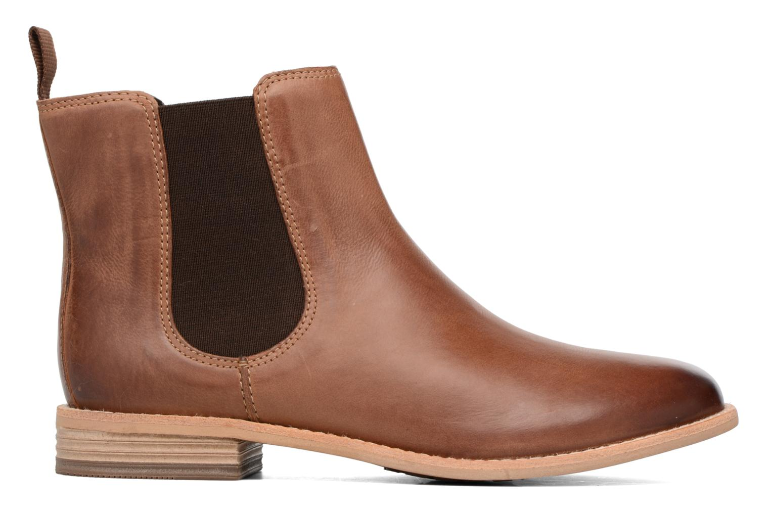Ankle boots Clarks Maypearl Nala Brown back view