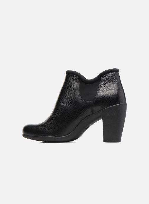 Ankle boots Clarks Adya Bella Black front view