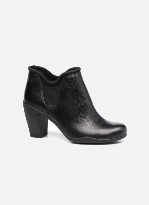 Ankle boots Clarks Adya Bella Black detailed view/ Pair view