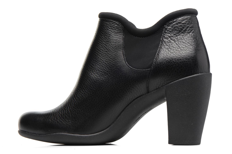 Bottines et boots Clarks Adya Bella Noir vue face