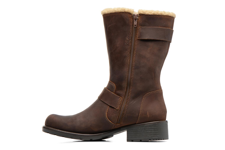 Boots & wellies Clarks Orinoco Art Brown front view