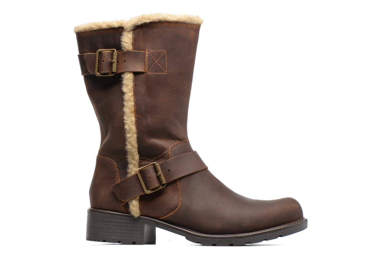 Boots & wellies Clarks Orinoco Art Brown back view