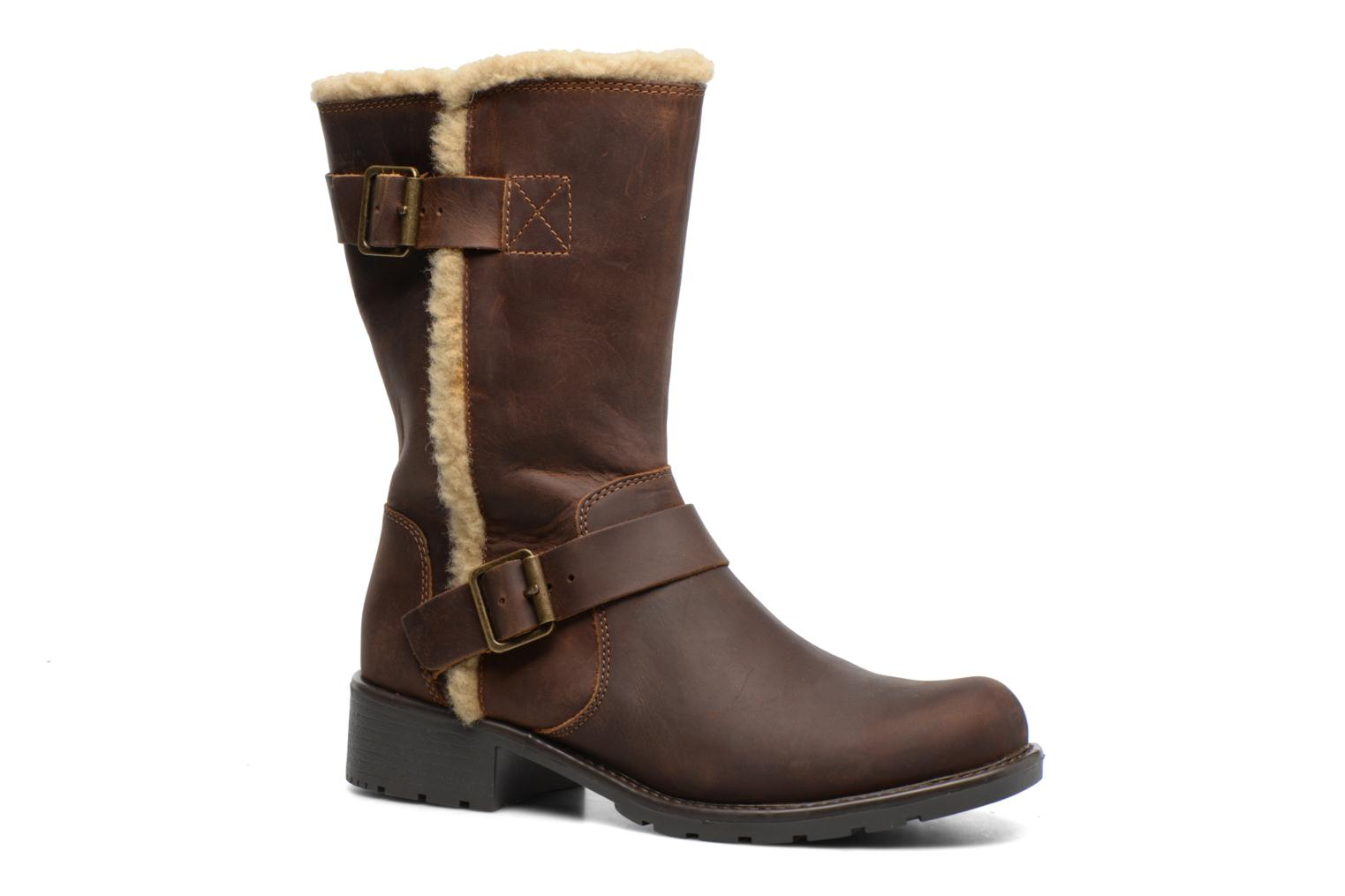 Boots & wellies Clarks Orinoco Art Brown detailed view/ Pair view