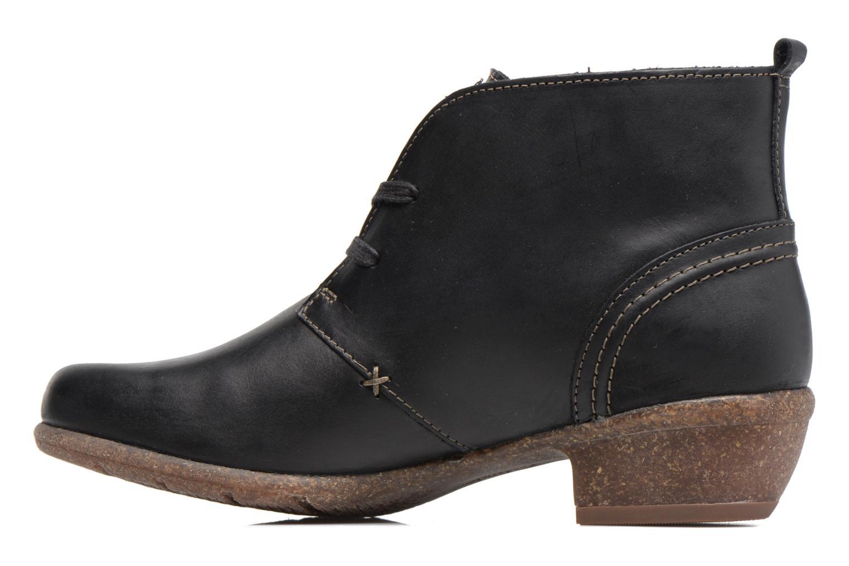 Bottines et boots Clarks Wilrose Sage Noir vue face