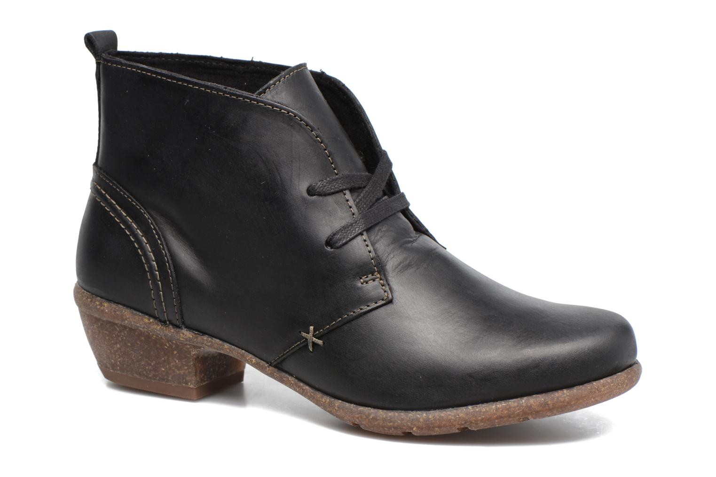 Bottines et boots Clarks Wilrose Sage Noir vue détail/paire