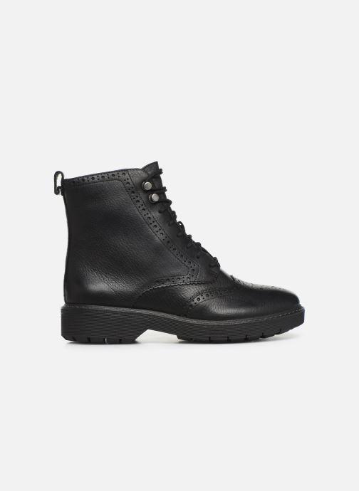 Boots en enkellaarsjes Clarks Witcombe Flo Zwart achterkant