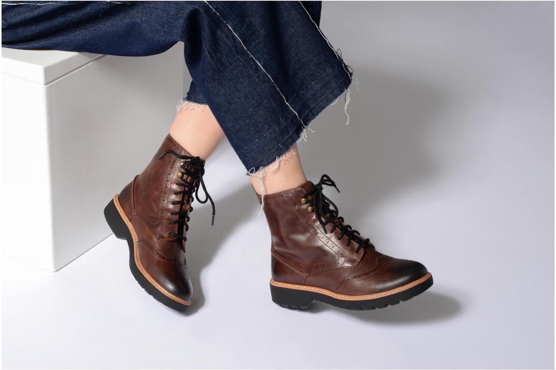 Boots en enkellaarsjes Clarks Witcombe Flo Bruin onder