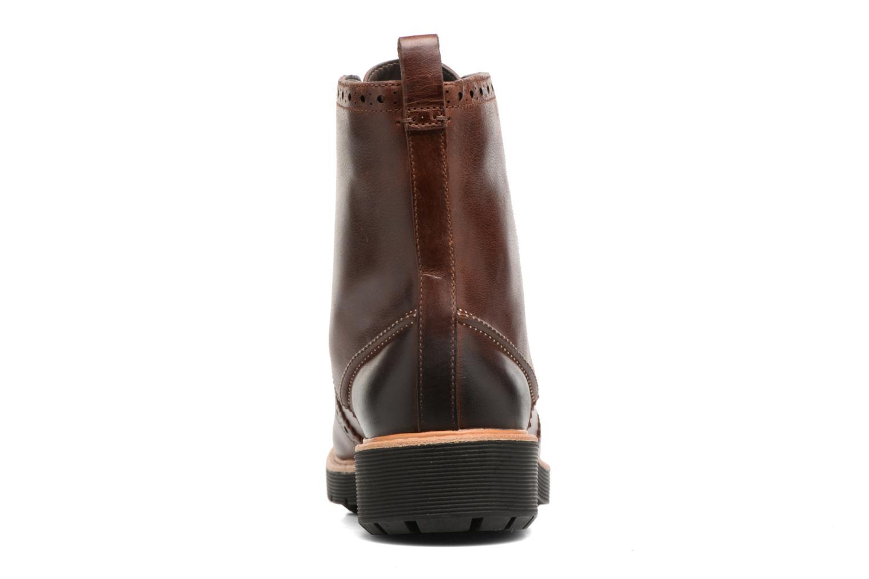 Boots en enkellaarsjes Clarks Witcombe Flo Bruin rechts