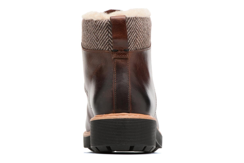 Bottines et boots Clarks Witcombe Rock Marron vue droite