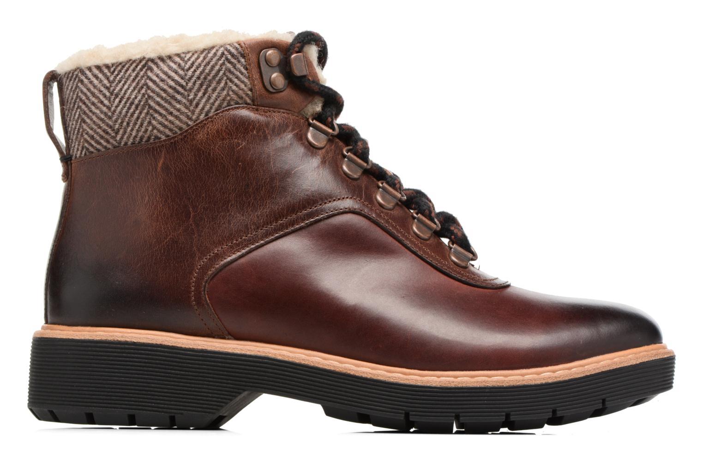 Bottines et boots Clarks Witcombe Rock Marron vue derrière