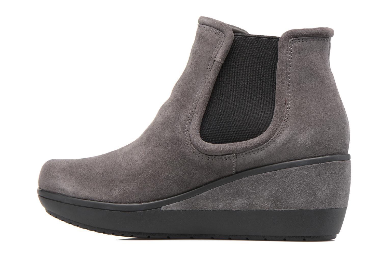 Boots en enkellaarsjes Clarks Wynnmere Mara Grijs voorkant