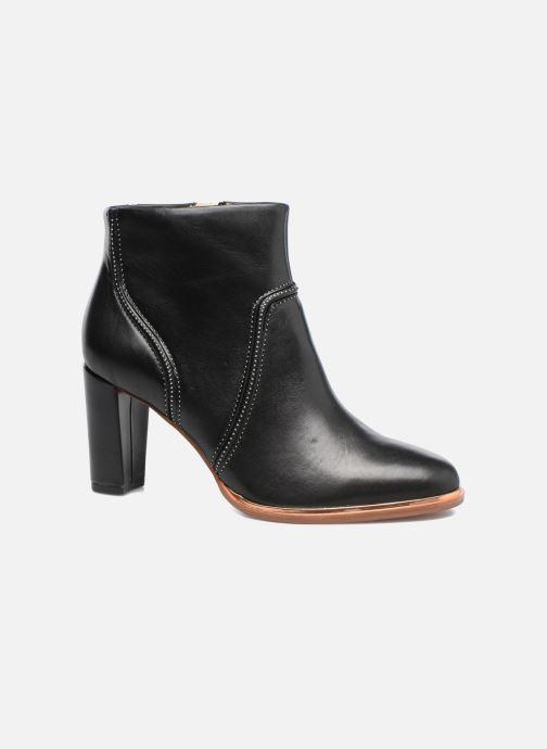 Boots en enkellaarsjes Clarks Ellis Betty Zwart detail