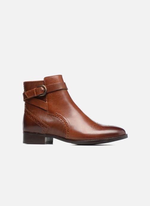 Bottines et boots Clarks Netley Olivia Marron vue derrière