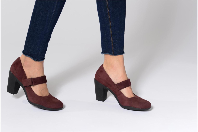 Zapatos de tacón Clarks Adya Clara Negro vista de abajo
