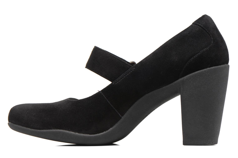 Zapatos de tacón Clarks Adya Clara Negro vista de frente