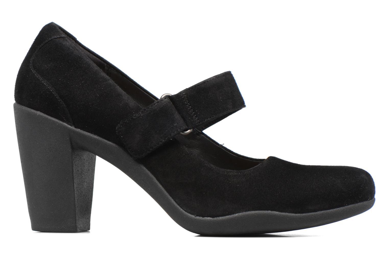 Zapatos de tacón Clarks Adya Clara Negro vistra trasera