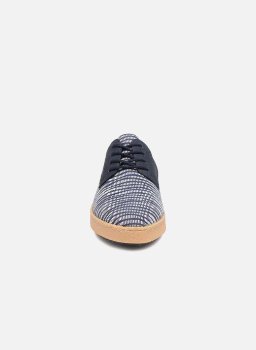 Chaussures à lacets Clarks Lillia Lola Bleu vue portées chaussures