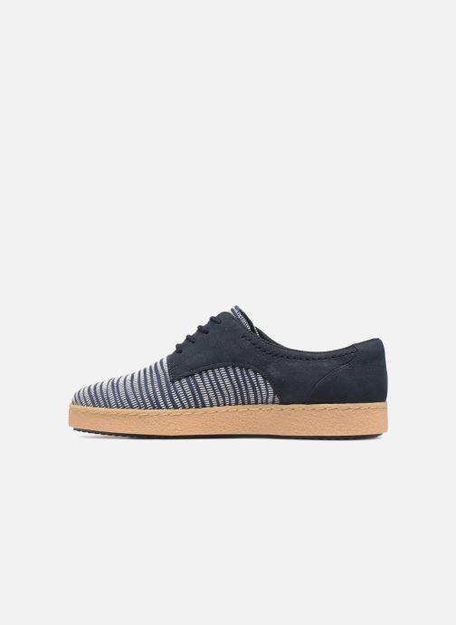 Chaussures à lacets Clarks Lillia Lola Bleu vue face