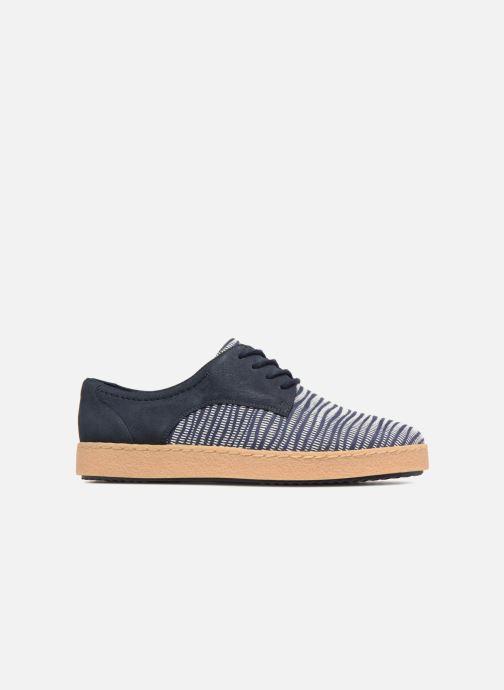 Chaussures à lacets Clarks Lillia Lola Bleu vue derrière