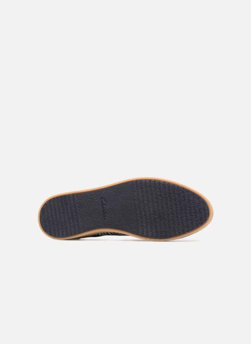 Chaussures à lacets Clarks Lillia Lola Bleu vue haut