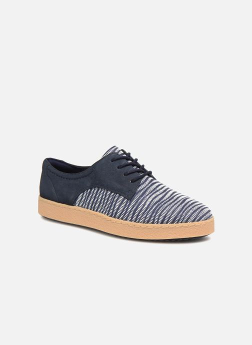 Chaussures à lacets Clarks Lillia Lola Bleu vue détail/paire