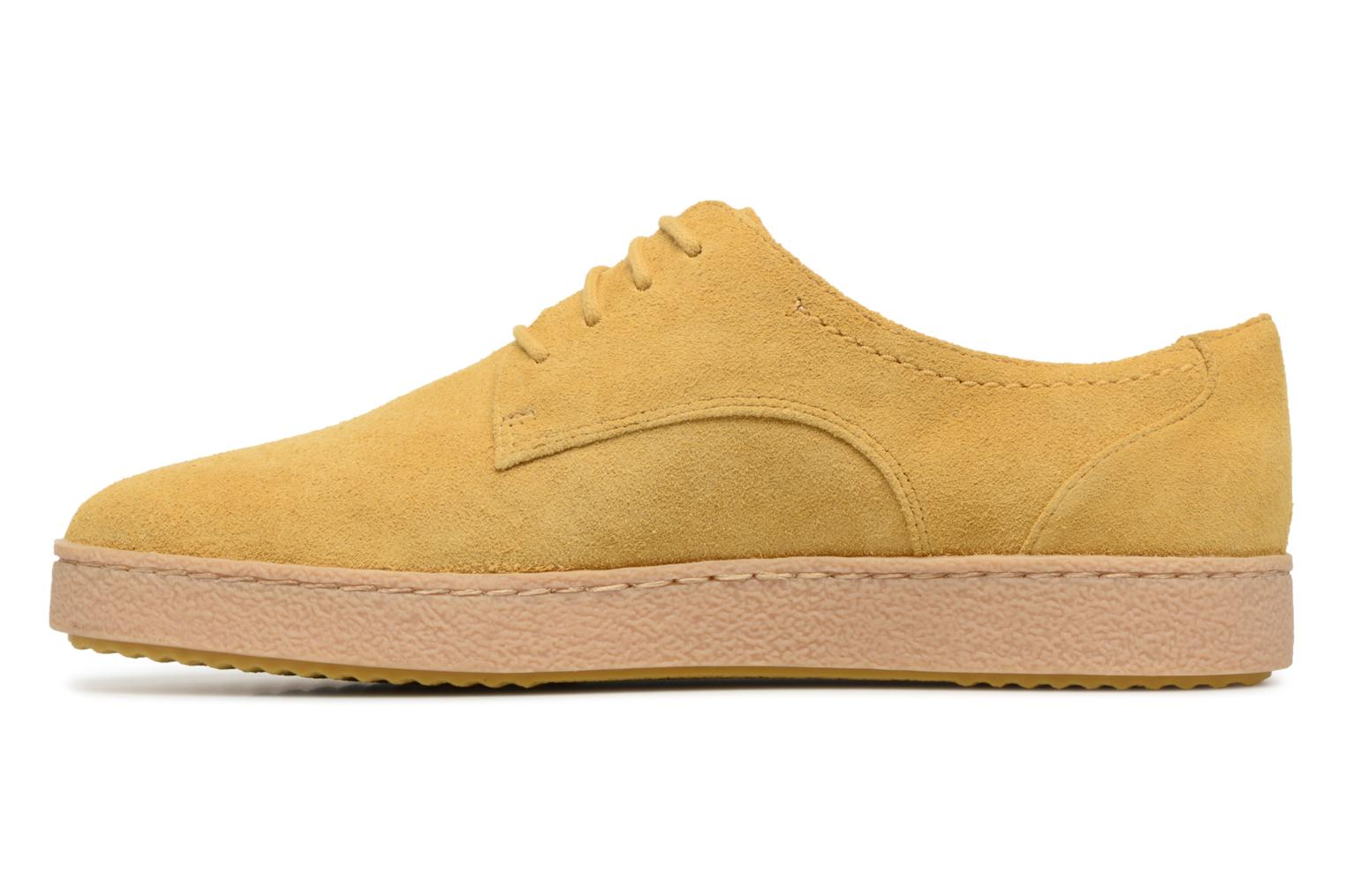 Lace-up shoes Clarks Lillia Lola Yellow front view