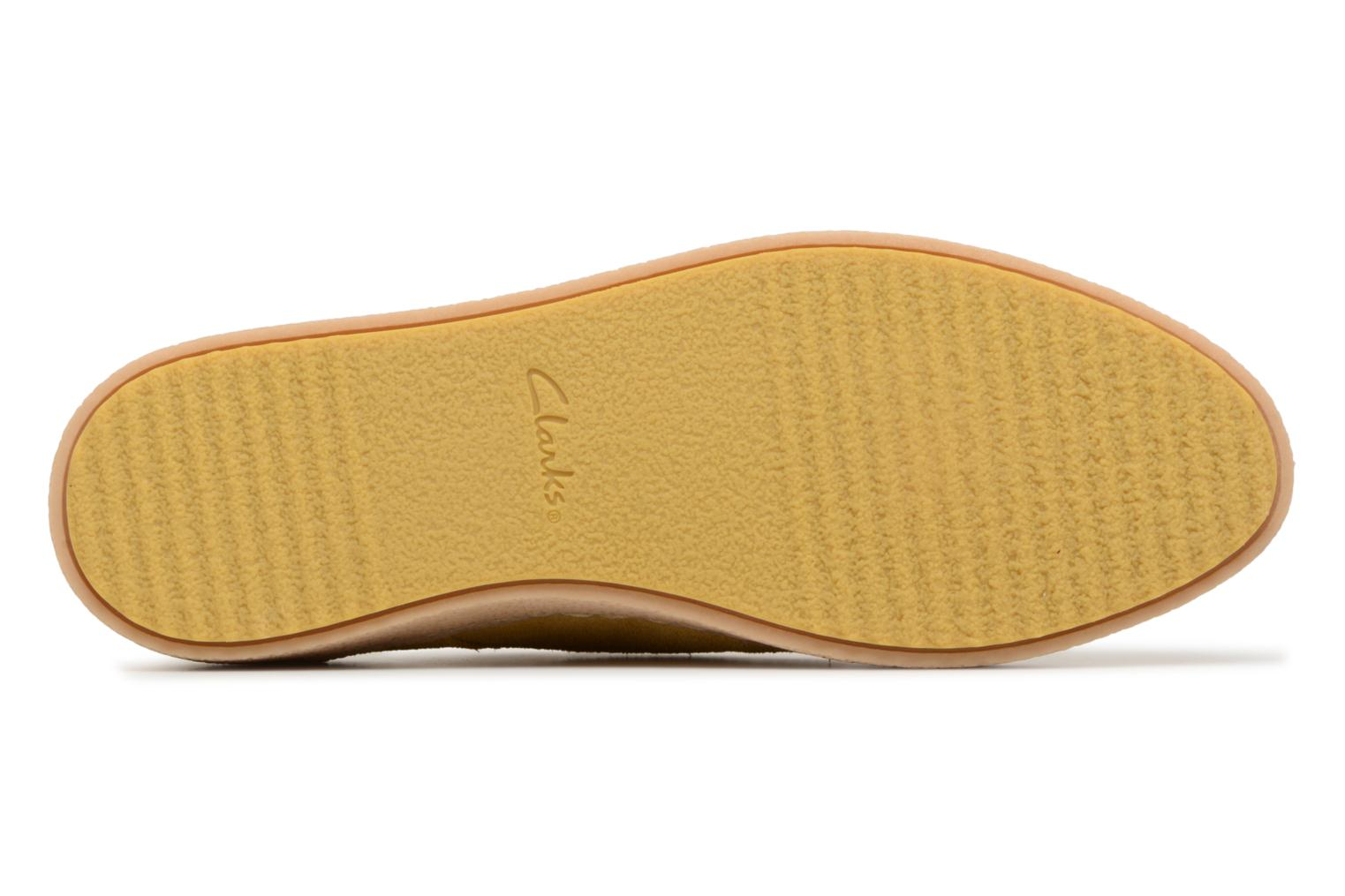 Lace-up shoes Clarks Lillia Lola Yellow view from above