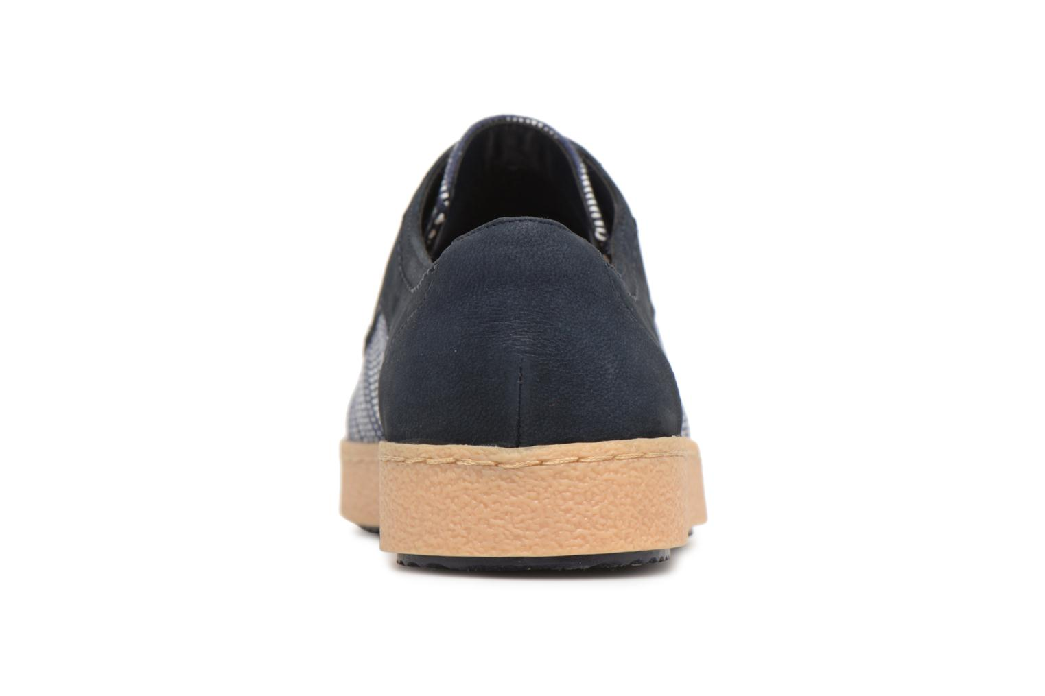 Lace-up shoes Clarks Lillia Lola Blue view from the right