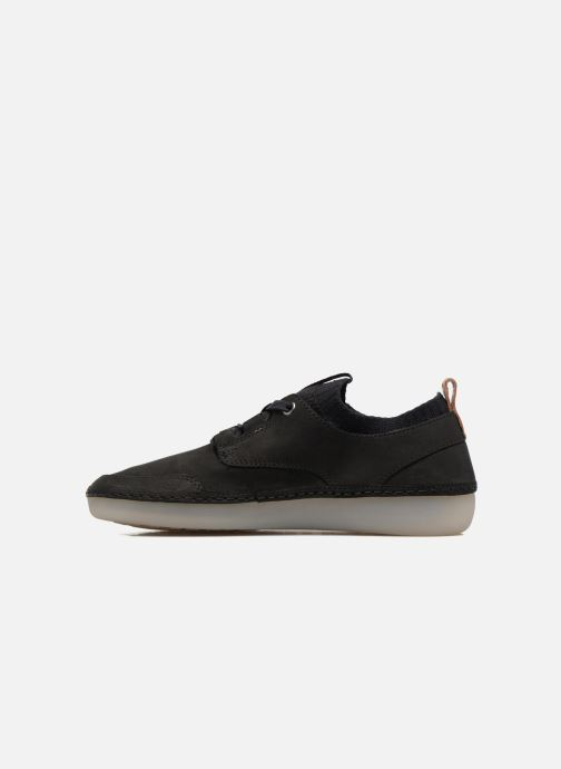 Baskets Clarks Nature IV. Noir vue face