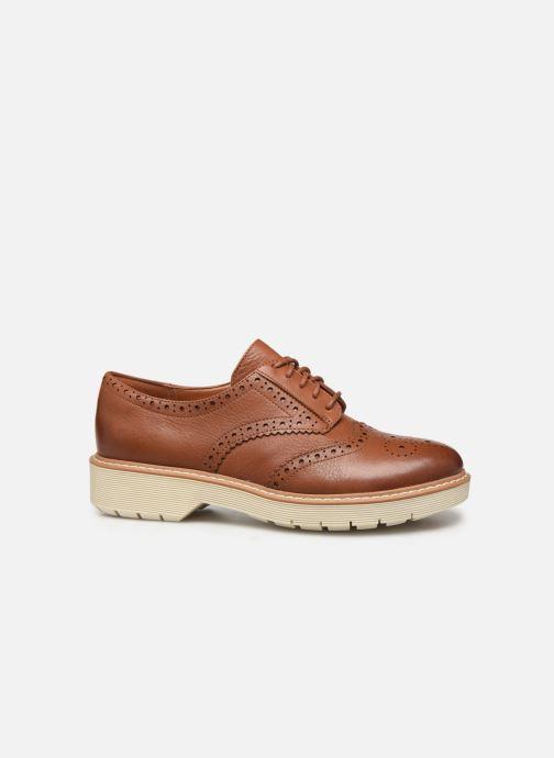Zapatos con cordones Clarks Witcombe Echo Marrón vistra trasera