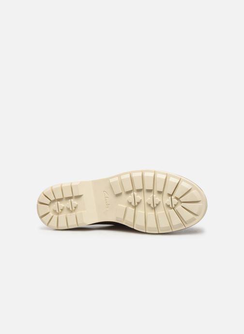 Chaussures à lacets Clarks Witcombe Echo Marron vue haut