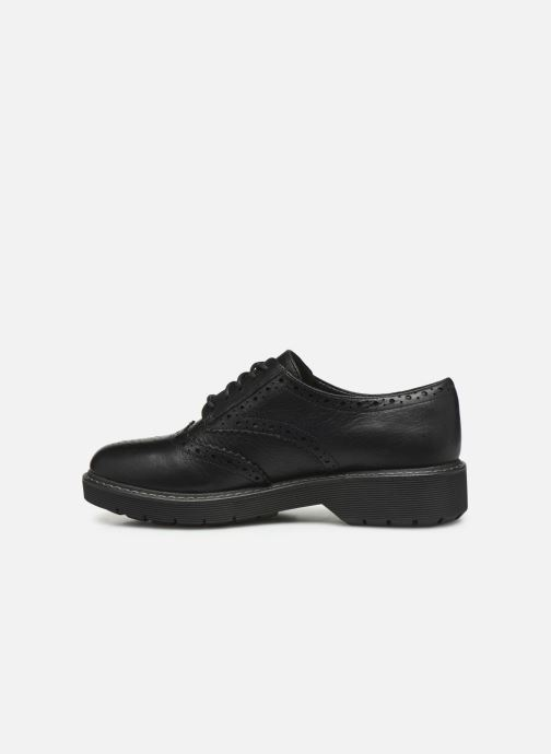 Chaussures à lacets Clarks Witcombe Echo Noir vue face