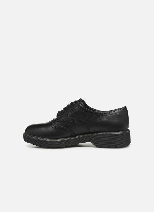 Zapatos con cordones Clarks Witcombe Echo Negro vista de frente