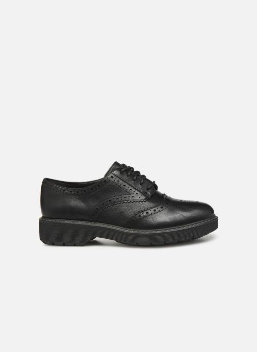 Zapatos con cordones Clarks Witcombe Echo Negro vistra trasera