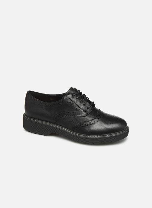 Chaussures à lacets Clarks Witcombe Echo Noir vue détail/paire