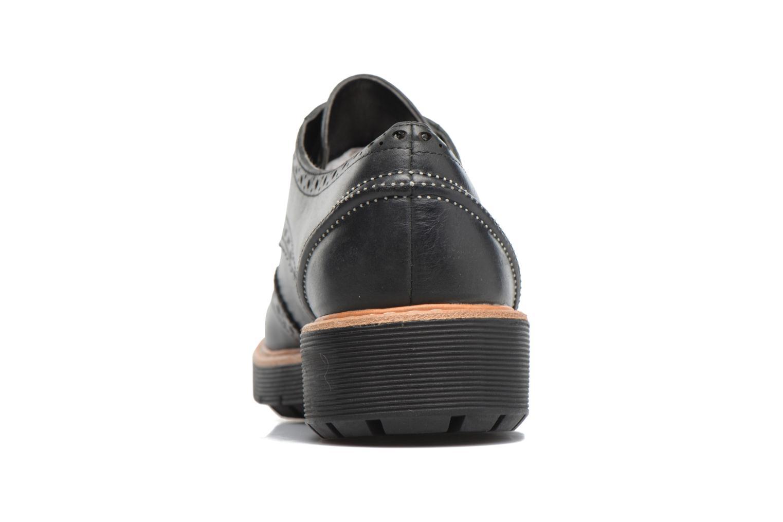 Chaussures à lacets Clarks Witcombe Echo Noir vue droite