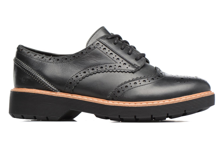 Chaussures à lacets Clarks Witcombe Echo Noir vue derrière