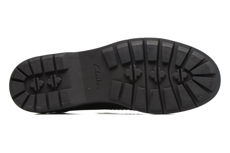 Chaussures à lacets Clarks Witcombe Echo Noir vue haut