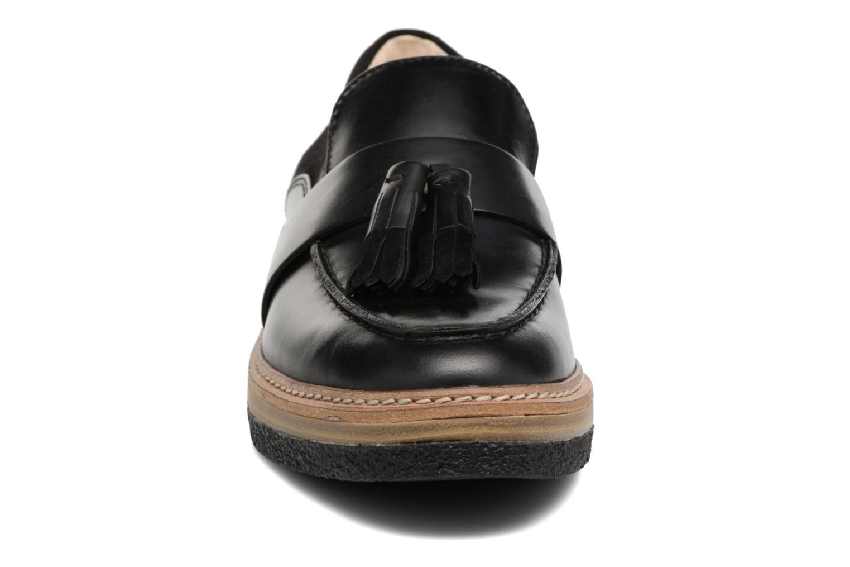 Mocassins Clarks Zante Spring Noir vue portées chaussures