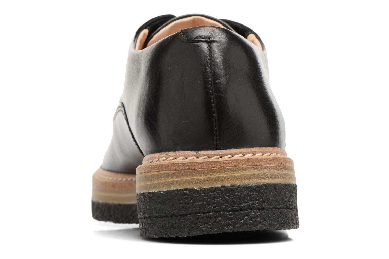Chaussures à lacets Clarks Zante Zara Noir vue droite