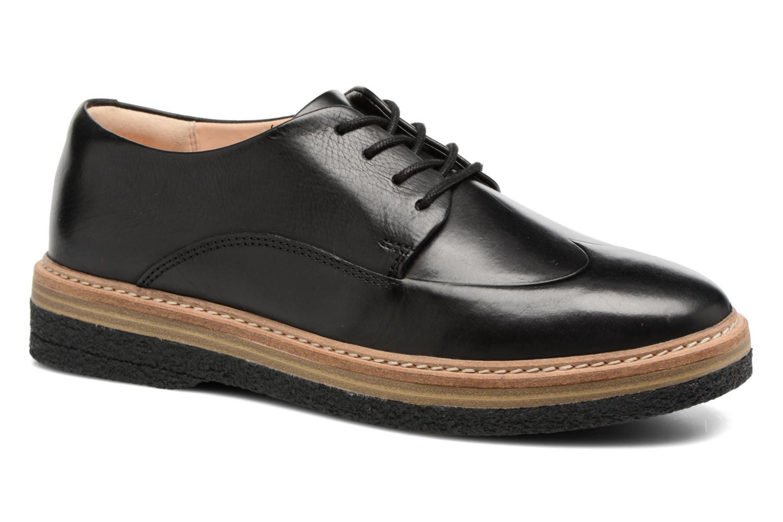 Chaussures à lacets Clarks Zante Zara Noir vue détail/paire