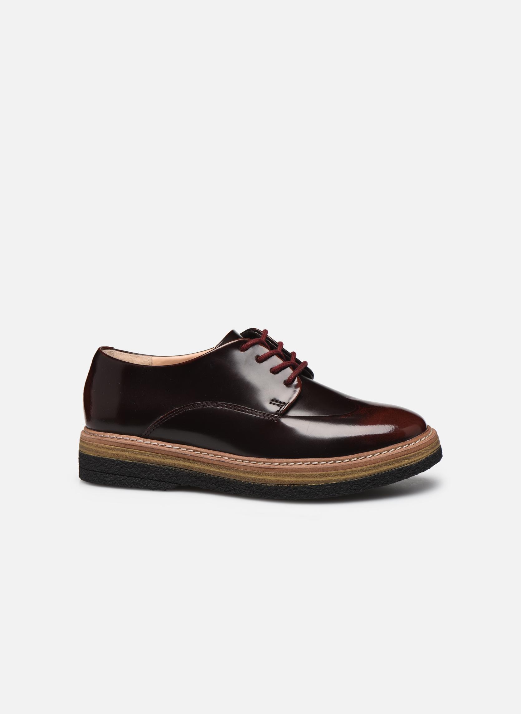 Chaussures à lacets Clarks Zante Zara Bordeaux vue derrière
