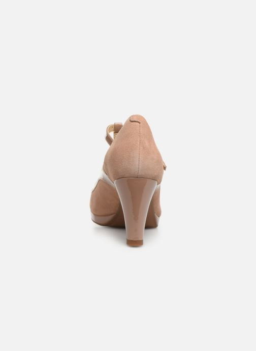High heels Clarks Chorus Pitch Beige view from the right